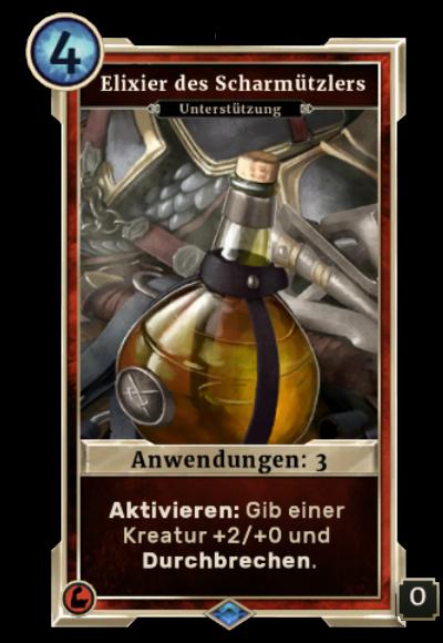 Elixier des Scharmützlers (Legends)