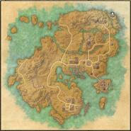 Wegschrein der sandigen Grotte Karte