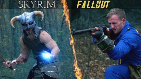 Fenrisúlfr/YouTube-Video: Fallout vs Skyrim