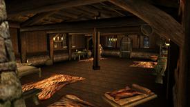 Eismähnes Hütte Innen 1