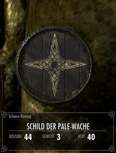 Schild der Pale-Wache