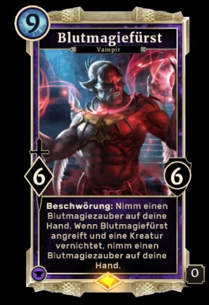Blutmagiefürst