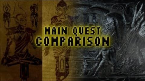 Main Quest Comparison Skyrim & Morrowind