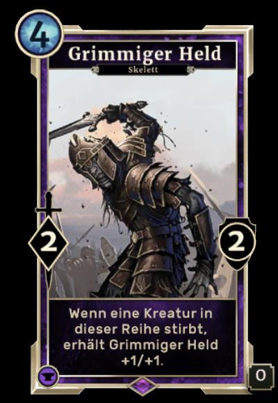 Grimmiger Held