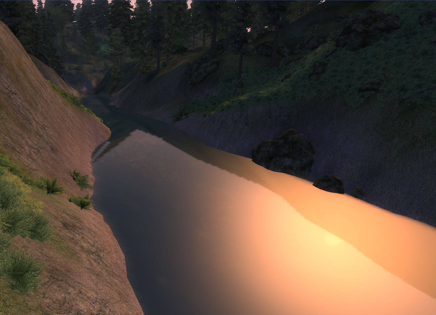 Fluss Reed