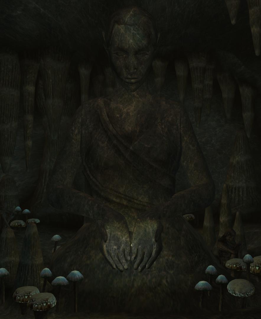 Der Pfad des Fleisch-Gewordenen