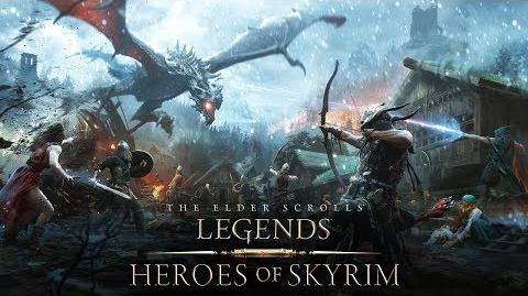 The Elder Scrolls Legends – Heroes of Skyrim-Trailer