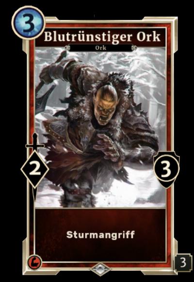 Blutrünstiger Ork
