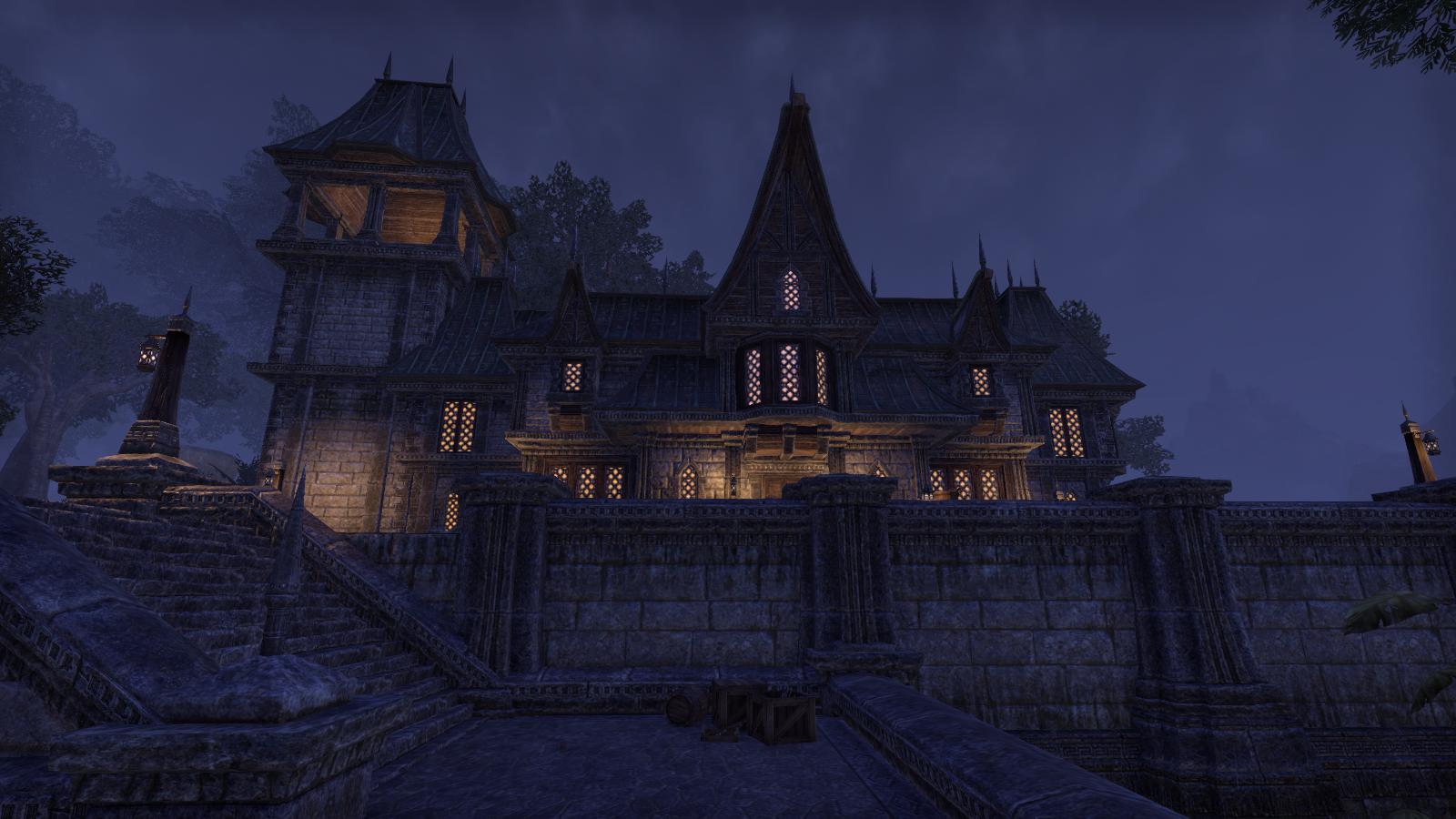 Düsteres Herrenhaus