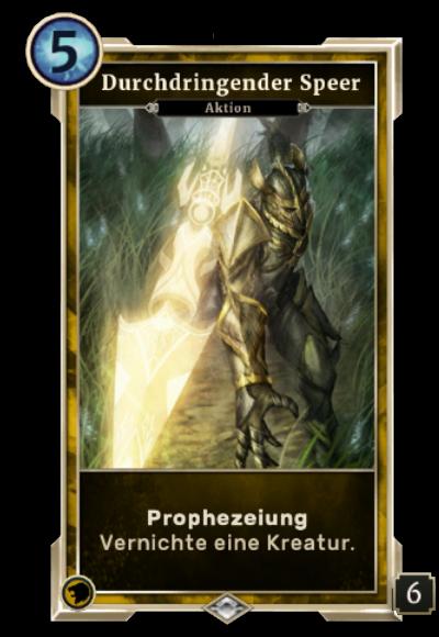 Durchdringender Speer (Legends)