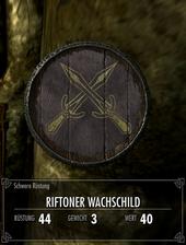Riftoner Wachschild