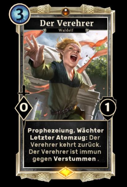 Der Verehrer (Legends)