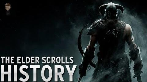 History of - The Elder Scrolls (1994-2013)