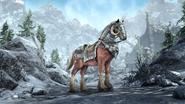 The Elder Scrolls Online Greymoor Festenbrecher-Kriegspferd