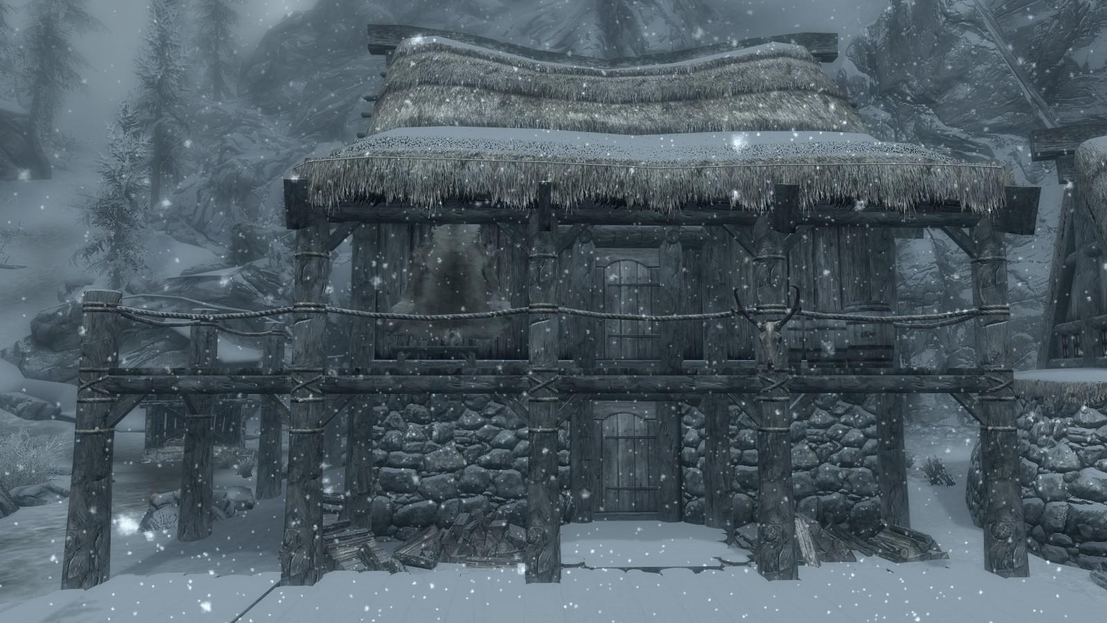 Birnas Überreste