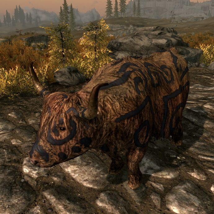 Розмальована корова