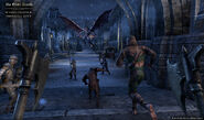 Charging into Imperial City TESO