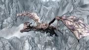 Легендарний дракон у польоті