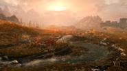 The Elder Scrolls V Skyrim Tundra 4k Screen
