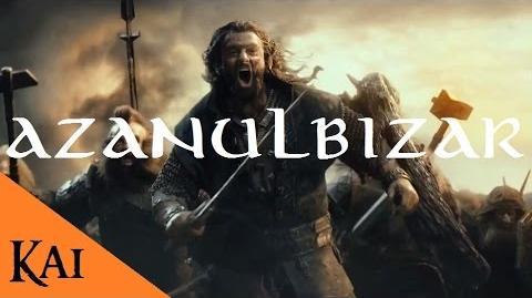 La Guerra de los Enanos y los Orcos y la Batalla de Azanulbizar