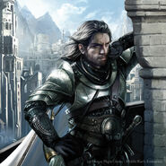 Boromir en Osgiliath Magali Villeneuve