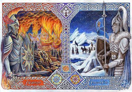 Feänor y Fingolfin.jpg