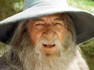 Gandalf sonriendo