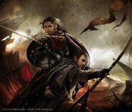 Boromir y Faramir Magali Villeneuve