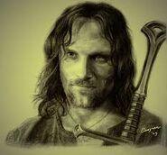 Aragorn retrato