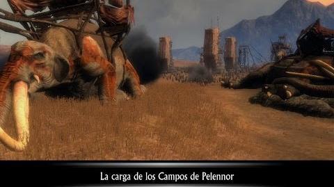 ESDLA- La Conquista - Guerra Del Anillo- La Carga De Los Campos De Pelennor