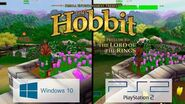 The Hobbit Game (2003) Graphics Comparison PC vs PS2