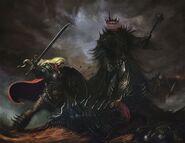 Eowyn y el rey brujo