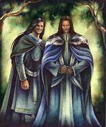 Eldarion y Aragorn