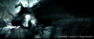 Gandalf contra el nigromante