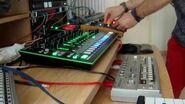 Paolo Sapia - Live Techno- Berghain vibe Jam - Roland SH-101, TB-303, TR-8, TB-3