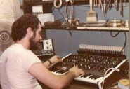 Carmine in Lab 1975