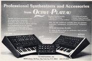 Octave-plateau ad 1980