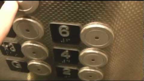 Kone (former Otis) Traction Elevators at the Renaissance Center Parking Garage in Detroit Michigan
