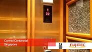 Nice Fujitec Elevators at Conrad Centennial Singapore (Main)