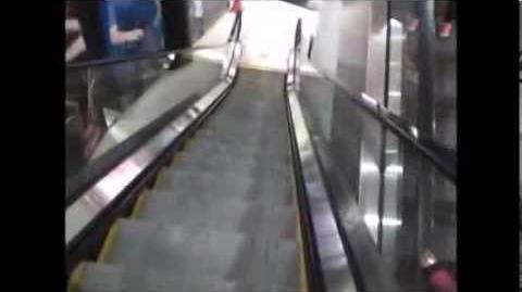Rare! Kone TravelMaster 110 escalators @ department store, La Serena, Chile