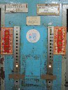 Fujitec black buttons HK 1960s Hall