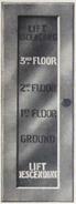 Waygood-Otis hall indicator