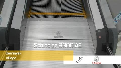 4 Schindler 9300 AE Escalators at Seminyak Village, Bali