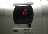 Newer Otis Series 5 with bar emergency light