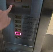 Kone M-Series buttons KL