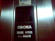 Orona 80's old indicator