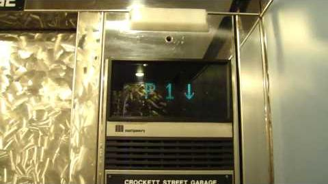 Montgomery Vector Traction Elevator @ Rivercenter Mall San Antonio TX