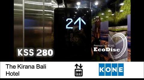 POSH KONE MonoSpace Elevator at The Kirana Hotel, Bali