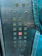 Pearl Bank Apartments Fireman Lift Buttons