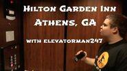 Schindler HT 400A Traction Elevators @ the Hilton Garden Inn in Athens, GA